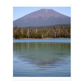 Lite Lava sjö & vulkan Vykort