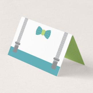 Lite manställekort, matkort placeringskort