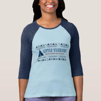 Lite medvetenhet för krigare ALD T-shirts
