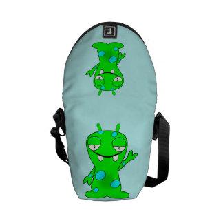 Lite monster messenger bag