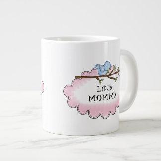 Lite mugg för hem för Momma hemTweet Jumbo Mugg