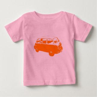 Lite orange buss tröjor