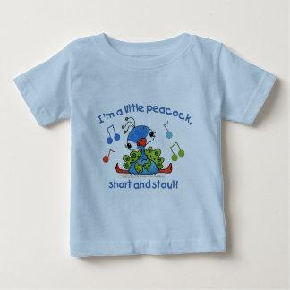 Lite påfågelkort och kraftigt t-shirts