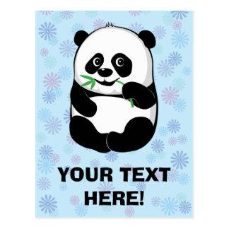 Lite Pandapojke [personifiera], Vykort