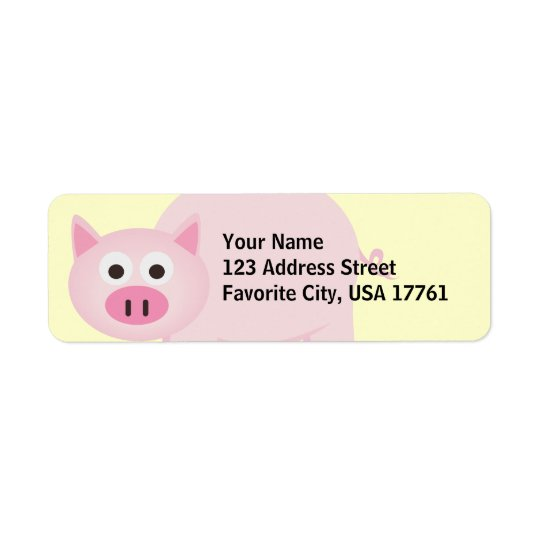 Lite Piggy adressetiketter