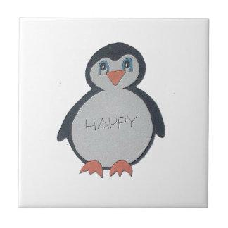 Lite pingvin kakelplatta