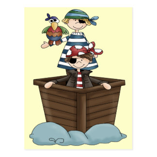 Lite pirater vykort
