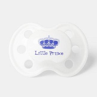 Lite Prince Royal Behandla som ett barn Kröna Napp