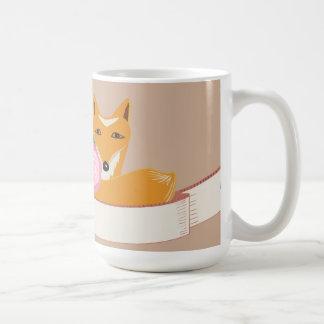 Lite räv kaffemugg