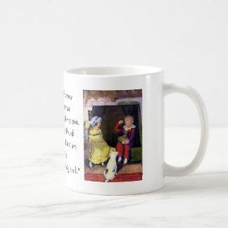 Lite rim för barnkammare för jackHorner vintage Kaffemugg