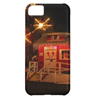 Lite rött iPhone 5C fodral