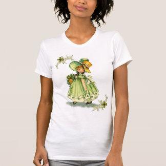 Lite Sanktt liten pastej T-tröja för dagFlicka T Shirt
