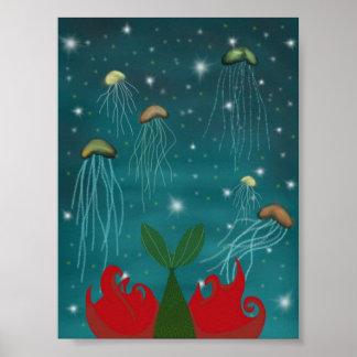 Lite sjöjungfruInsta affisch Poster