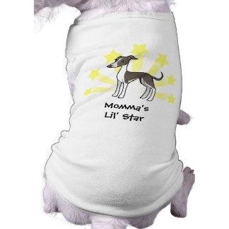 Lite stjärnavinthund/Whippet/italiensk vinthund Hundtröja