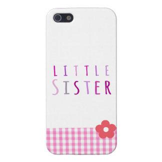 Lite syster i rosor iPhone 5 skal