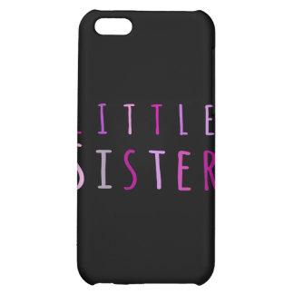 Lite syster i rosor iPhone 5C skal