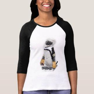 Lite utrustar pingvinet som ha på sig hockey t shirts