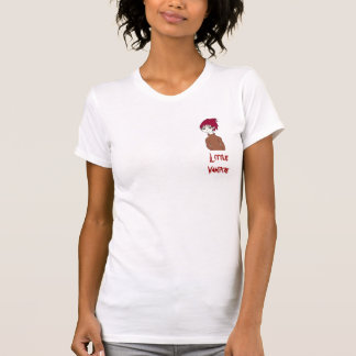 Lite vampyr (den kvinnliga utslagsplatsen) t-shirts