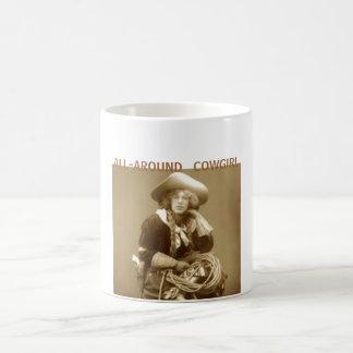 Lite varstans Cowgirl Kaffemugg
