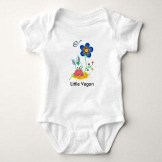 """Lite Vegan"" babyBodysuit Tröja"