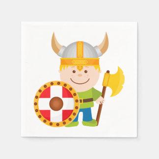 Lite Viking Pappersservett
