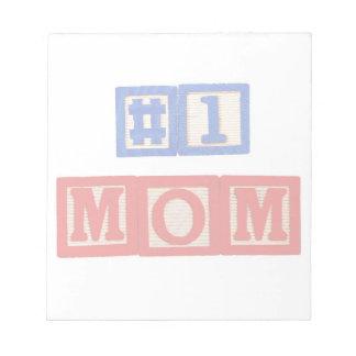 Liten anteckningsblock för mamma #1