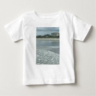 Liten heron på stranden tröja