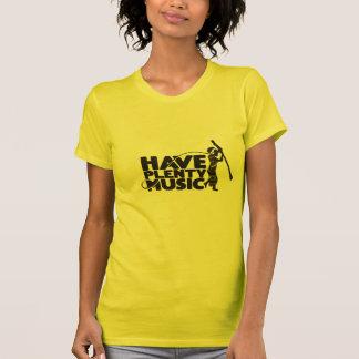Liten och nätt T-tröja för Mahangu tjackdamer Tröja