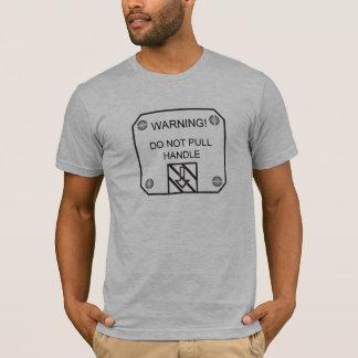 liten varning t-shirt