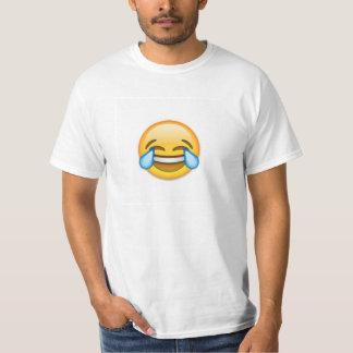 Liten vuxen manar för enorm Emoji skjorta! Tröja
