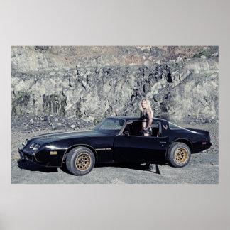 Liter 1979 för Pontiac trans.-förmiddag 6,6 V8 Poster