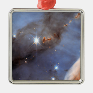 Litet dela upp av den Carina nebulaen Julgransprydnad Metall