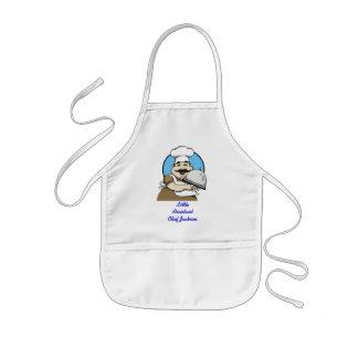 Litet kockförkläde barnförkläde