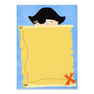 LittleBoyPirate.ai 12,7 X 17,8 Cm Inbjudningskort