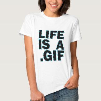 Liv är A. Gif Tshirts