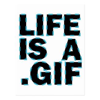 Liv är A. Gif Vykort