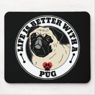 Liv är bättre med en mopshund aveln musmatta