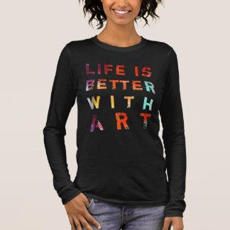 Liv är bättre med konst tröjor