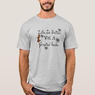 Liv är den bättre geckoen t shirt