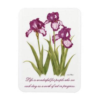 Liv är den underbara - Irises - magneten Magnet