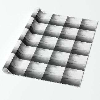 Liv är en strand - svartvitt typografisk foto presentpapper