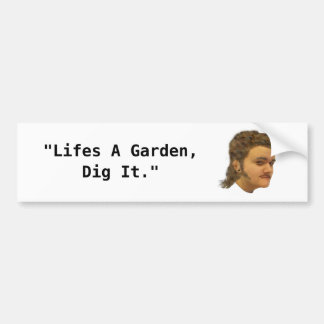 Liv är en trädgårds- pik det bildekalen bildekal