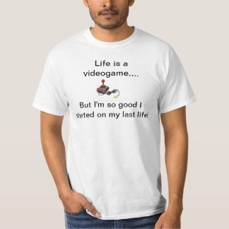 Liv är en videogame t shirts