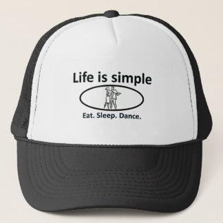 Liv är enkelt, dans truckerkeps