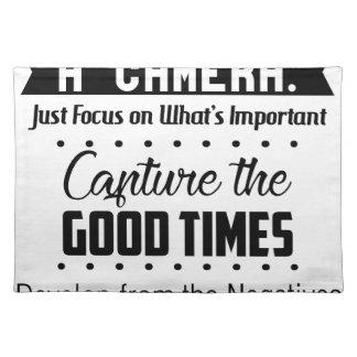 Liv är likt en kamera bordstablett