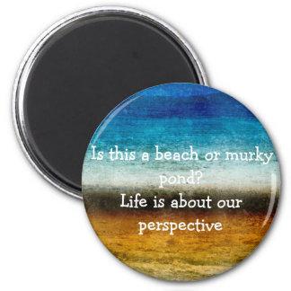 Liv är om vårt perspektiv magnet