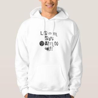 Liv är underbart!! Levande, skratt och kärlek!! Sweatshirt Med Luva