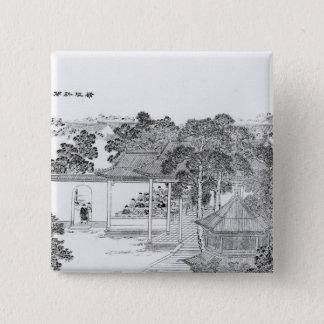 Liv av en Mandarin Standard Kanpp Fyrkantig 5.1 Cm