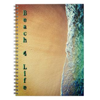 Liv för strand 4 anteckningsbok