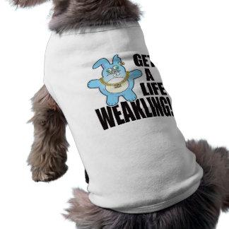 Liv för Weaklingdåligabulle Husdjurströja